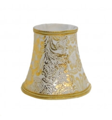 Lampshade - golden design for chandelier or Wall light - Adeline