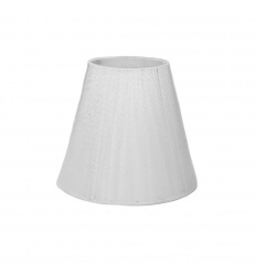 Lampshade - white design for chandelier or Wall light - Zen