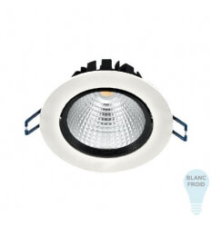 LED-spot COB built-in - 15W - cold white