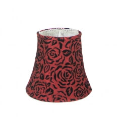 Lampshade - red design Chantal
