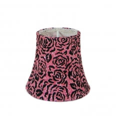 Lampshade - roses design Myrielle