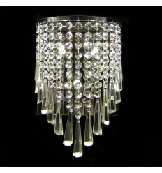Wall light - crystal Moosach