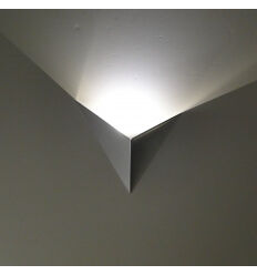 Wall light - LED ultra-design London - Silver