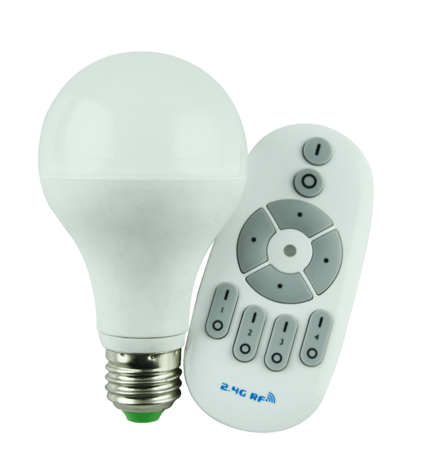 lightbulbs led bulbs led bulb 12w with dimmer and remote. Black Bedroom Furniture Sets. Home Design Ideas