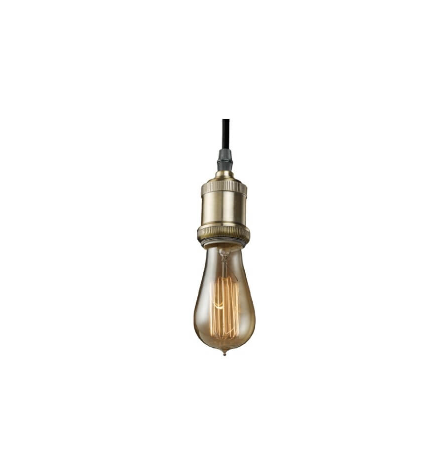 Pendant light design retro incandescent bulb 1xe27 - Suspension ampoule filament ...