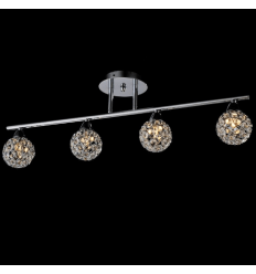 Ceiling light - bar crystal/chrome - collection Callopa