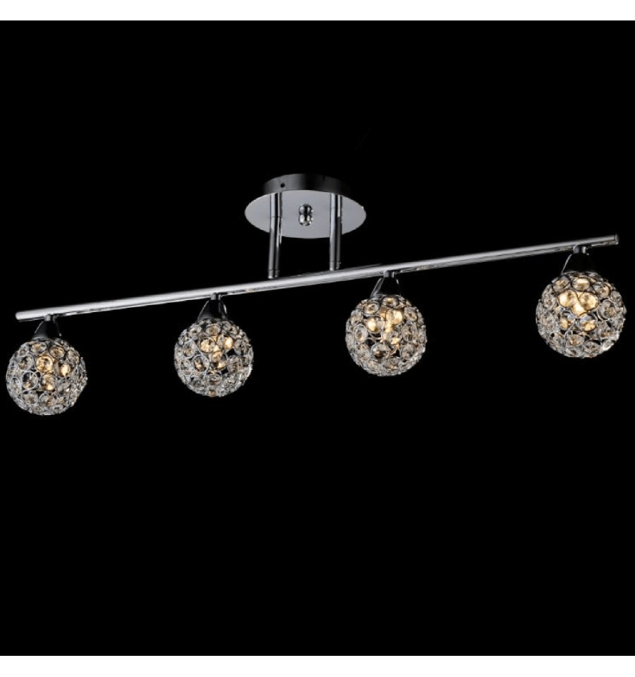 Ceiling Light Support Bar : Bar crystal ceiling light callopa collection kosilight