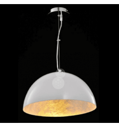 Pendant light - design white Dôme