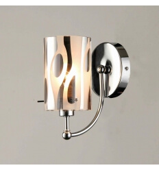 Wall light - design tube glass (E14) Ophyse