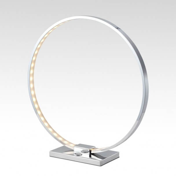 Table lamp - design chrome LED - Collection Circle