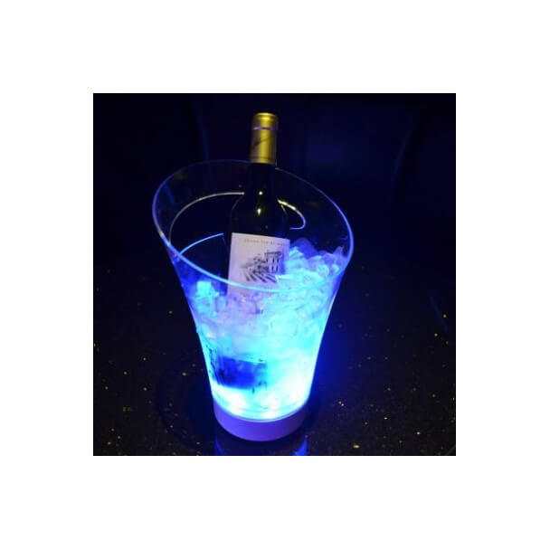 Ice/champagne bucket – LED RGB autonomous