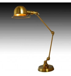 Big office lamp - design gold (E27) Malina
