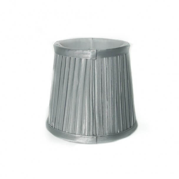 Lampshade - silver DESIGN for chandelier or Wall light - HELENA L