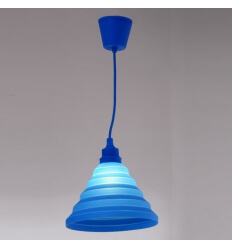 Pendant light - blue ILLINOIS