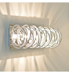 Designer Wall light - chrome MEMPHIS