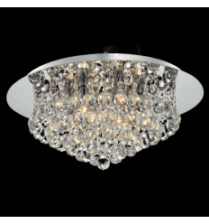Ceiling light - chromed crystal design (ø 450 mm) – Aurora