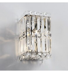 Wall light - cube glass polished