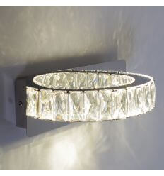 Wall light - LED crystal demi circle design - Kuna