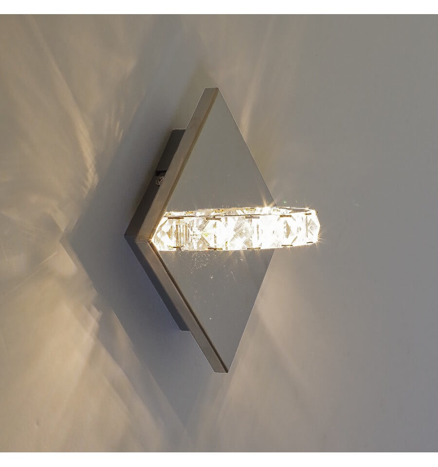 Wall Light Led Crystal Ring Design Spotlight
