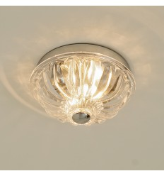 Ceiling light - round crystal - Olga