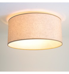 Ceiling light - round big fabric painted (E14)