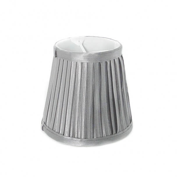 Lampshade - silver design for chandelier or Wall light - Helena