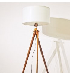 Floor lamp - tripod wood Lina