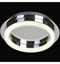 Ceiling light LED crystal circle D28 cm - Vivaldi