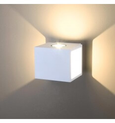 Wall light white LED modern - Brooklyn