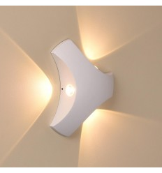 Wall light white modern - Boomerang