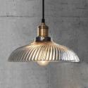 Glass Shade Pendant Light - Lucy