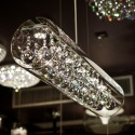 Cylindrical Glass Pendant Light LED 18W - Ino