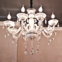 White Chandelier Prestigious - 8 Lights Roma