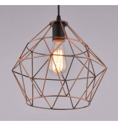 Pendant light - metal copper design modern - Cope