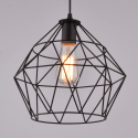 Pendant light - metal black design modern - Cope