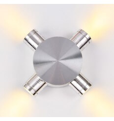 Wall light LED design chrome - Hoki