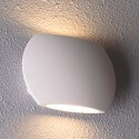 Modern round LED wall light - Iva