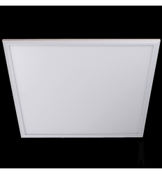 LED 38W silver 60 cm square panel light - Ida