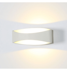 LED white modern wall light - Alyson