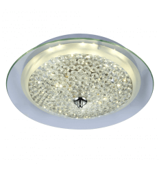 LED Ceiling light and glass rhinestones - Halo