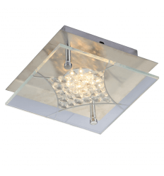 LED Ceiling Light and rhinestones - Polaris