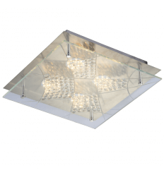 LED Ceiling Light 4 lights and stuck pendants - Solaris