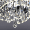 Chandelier with crystal pendants - Million