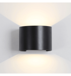 Black Waterproof LED Wall Light - Cosmic