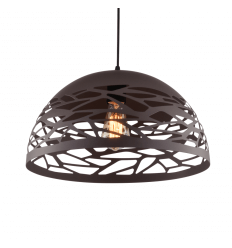 Natural brown pendant light - Forest