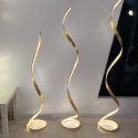 Lounge Golden Floorlamp LED - Millenium