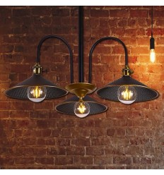Elegant old school triple pendant light - Hypnos