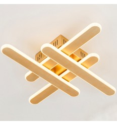LED lining cross-shaped modern wall light - Sendai