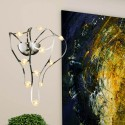 Modern frame and LED spots wall light - Dali