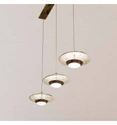 Saucer-shaped LED pendant lights - Volga